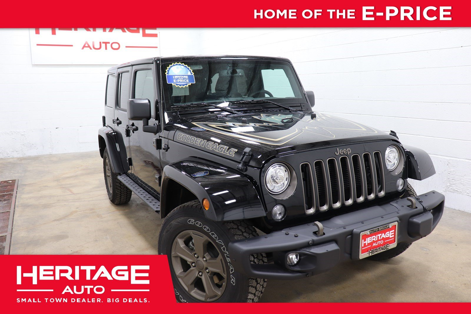 New 2018 Jeep Wrangler Golden Eagle