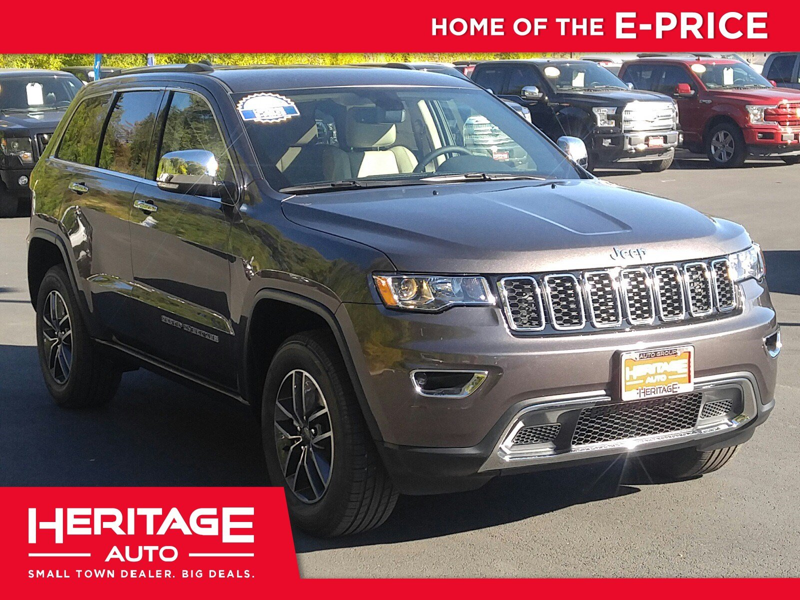 New 2019 Jeep Grand Cherokee Limited Sport Utility 3N