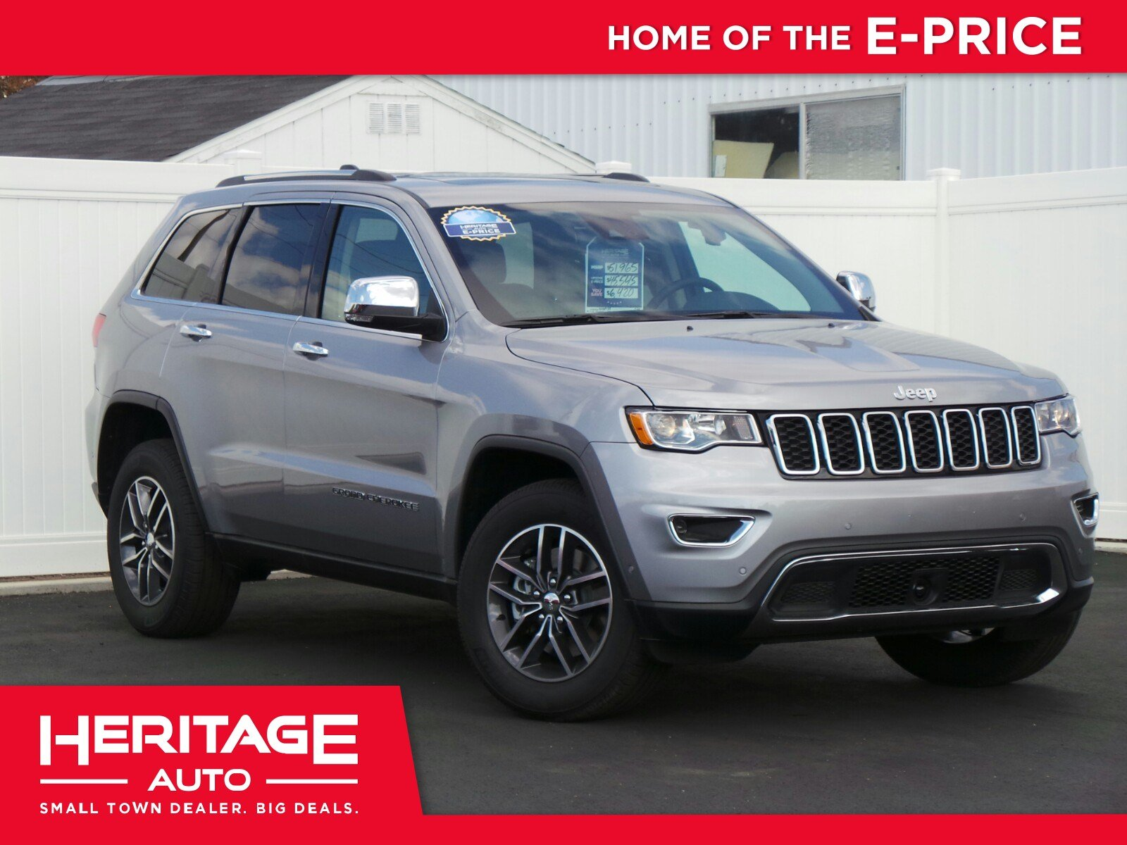 New 2018 Jeep Grand Cherokee Limited Sport Utility 2N