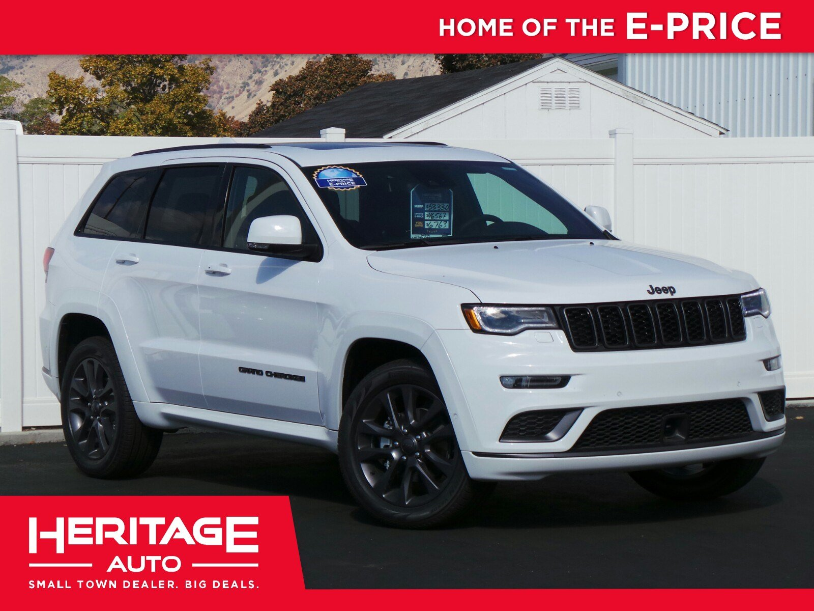 New 2018 Jeep Grand Cherokee High Altitude Sport Utility 2N