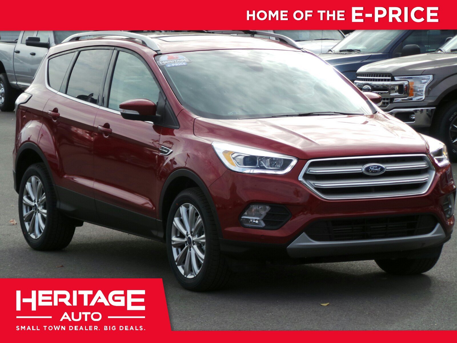 New 2018 Ford Escape Titanium Sport Utility 3NA