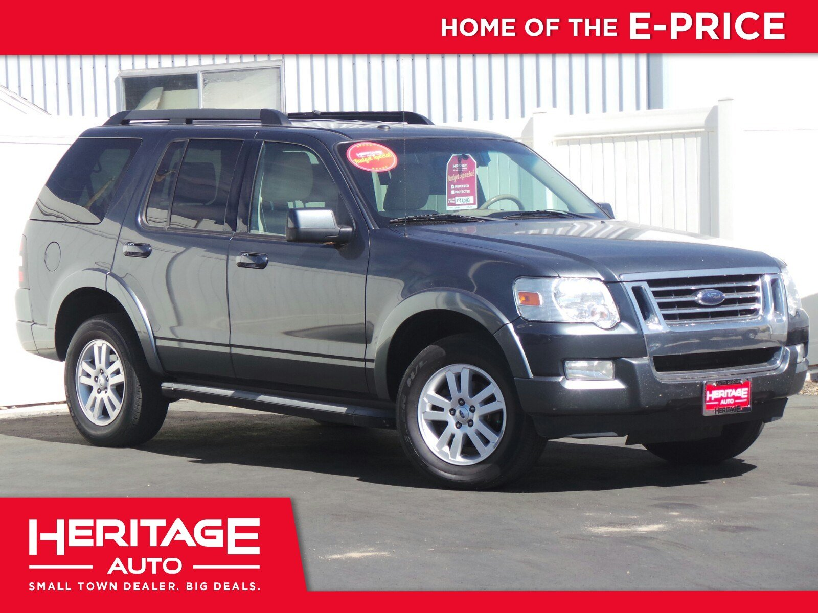 Pre owned 2010 ford explorer eddie bauer