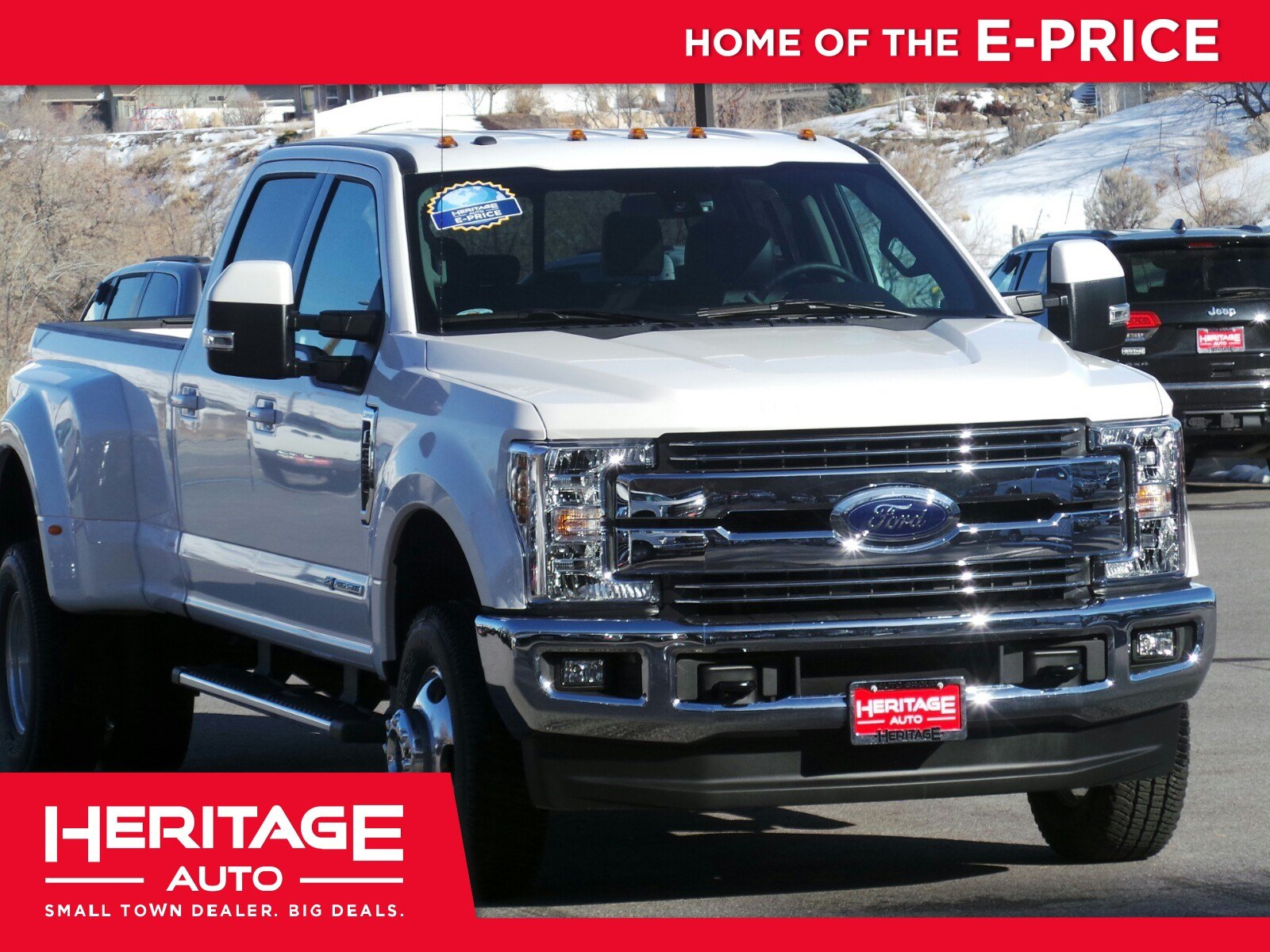 New 2018 Ford Super Duty F 350 DRW Crew Cab Pickup 3NB