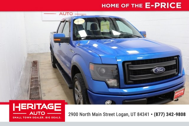 Pre Owned 2014 Ford F 150 Fx4 Four Wheel Drive Pickup Truck