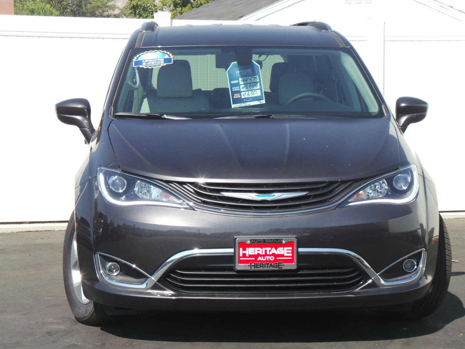 New 2018 Chrysler Pacifica Hybrid Touring L Mini Van Passenger Also 2006 Chevy Equinox Abs Traction Control Sensor