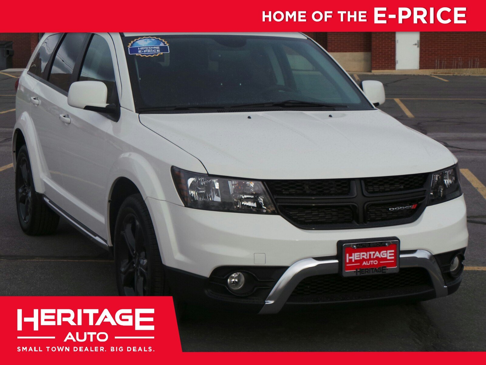 New 2018 Dodge Journey Crossroad Sport Utility 2n173189 Heritage