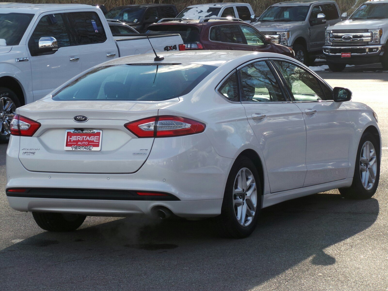 used fusion san fwd pre antonio in owned inventory car titanium ford